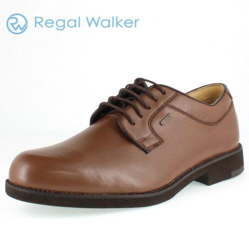 リーガル 靴 メンズ REGAL WALKER リーガルウォーカー 240W BJ ダークブラウン プレーントゥ シューズ 3E-4E ゴアテックス 防水機能 【消臭スプレープレゼント】