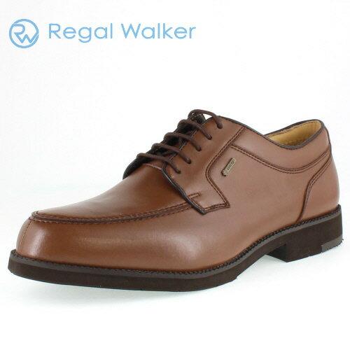 リーガル 靴 メンズ REGAL WALKER リーガルウォーカー 241W BJ ダークブラウン Uチップ シューズ 3E-4E ゴアテックス 防水機能 【消臭スプレープレゼント】