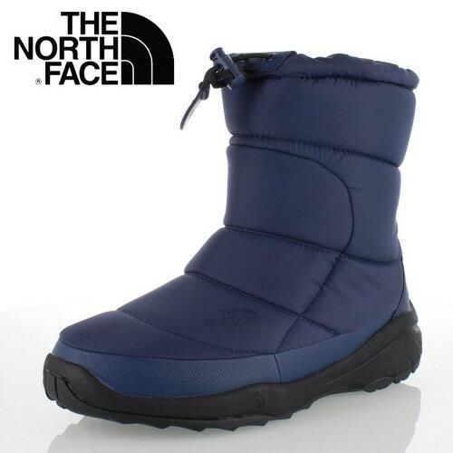 THE NORTH FACE ノースフェイス Nuptse Bootie WP 4 NF51585 (DD) メンズ ヌプシ ブーツ ヌプシ ブーティ ウォータープルーフ 4 ダークデニム