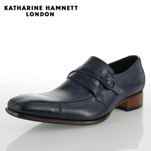 KATHARINE HAMNETT LONDON キャサリンハムネット 31501 メンズ ビジネスシューズ ネイビー 【取寄せ】