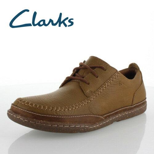 クラークス メンズ Clarks Trapell Aporon 818E トラペルエプロン タン カジュアルシューズ 正規品