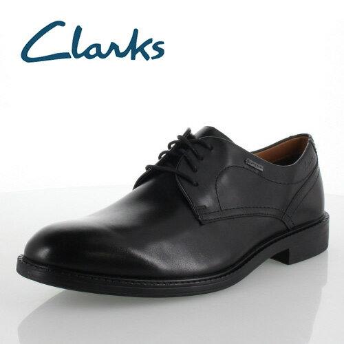 よく売れる クラークス メンズ Clarks Chilver Walk GTX 801E チルバーウォークGTX ブラック ゴアテックス ビジネスシューズ 正規品