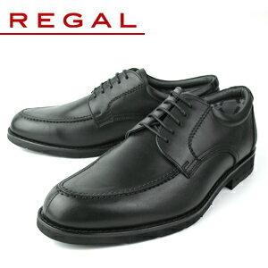 リーガル 靴 メンズ ビジネスシューズ Uチップ 撥水加工 REGAL 623R AL ブラック 紳士靴 GOR-TEX仕様 送料無料 【消臭スプレープレゼント】