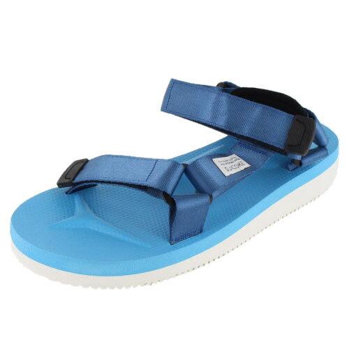 SUICOKE スイコック DEPA-V/OG-022V BLUE-17 ビブラムソール サンダル ブルー メンズ レディース セール