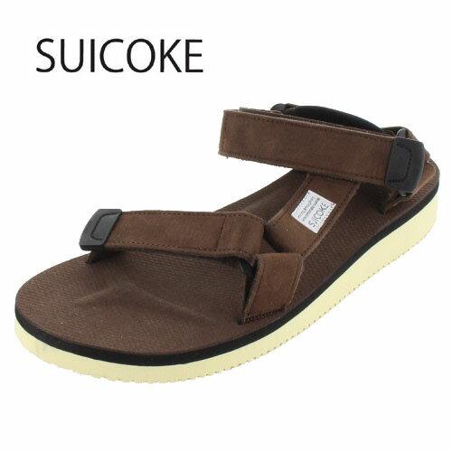 SUICOKE スイコック DEPA-ECS/OG-022A BROWN-13 ビブラムソール サンダル ブラウン メンズ レディース セール