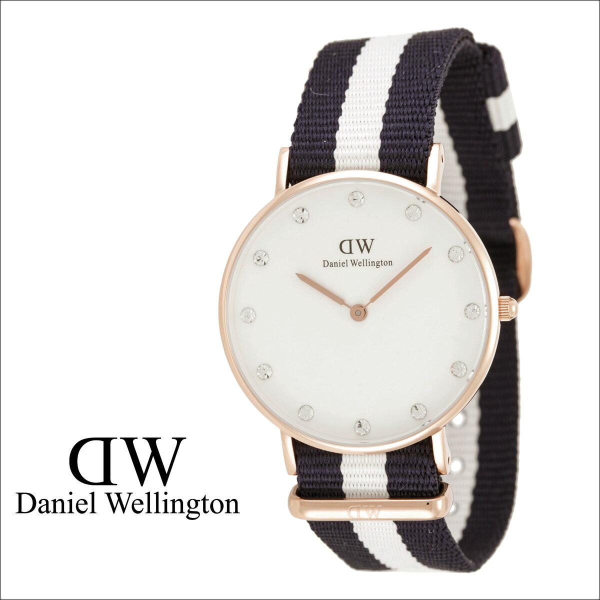 Daniel Wellington ダニエルウェリントン 34mm 腕時計 レディース  0953DW CLASSY GLASGOW  ローズゴールド
