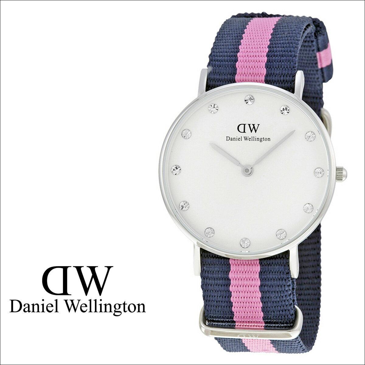 Daniel Wellington ダニエルウェリントン 34mm 腕時計 レディース  0962DW CLASSY WINCHESTER  シルバー