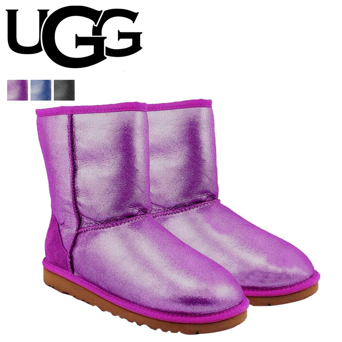 アグ UGG キッズ クラシック ムートンブーツ KIDS CLASSIC GLITTER 1000792 シープスキン レディース