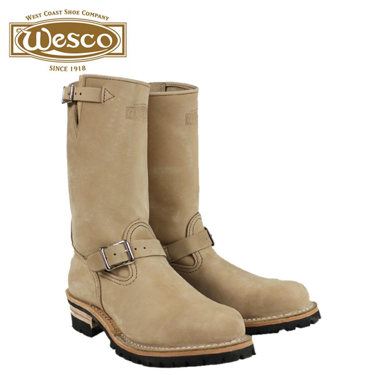 WESCO ウエスコ 11インチ ジョブマスター ブーツ エンジニアブーツ  11INCH THE BOSS STEEL TOE Eワイズ レザー  バーラップ BE7700100 ウェスコ  メンズ
