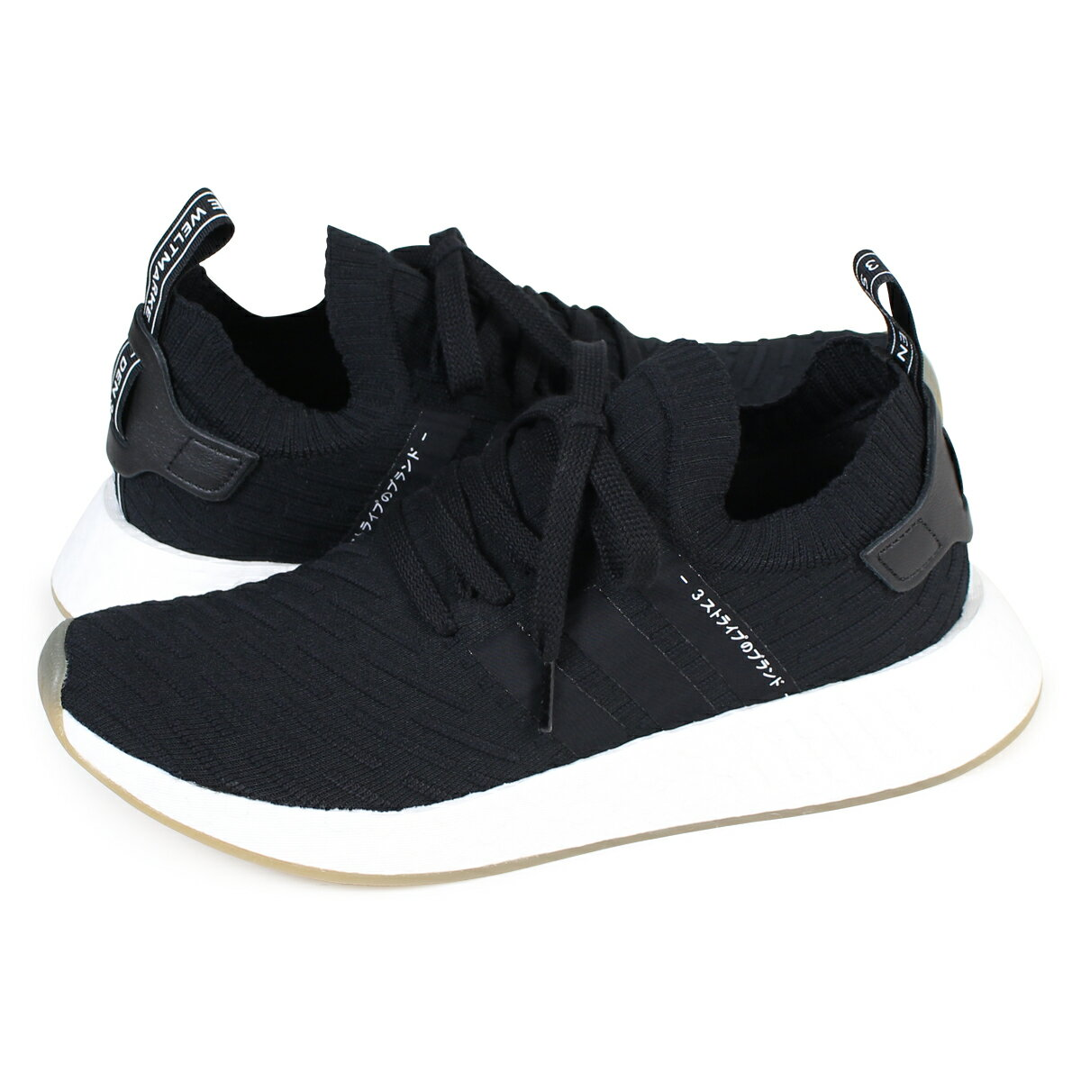 adidas originals NMD R1 PK アディダス スニーカー ノマド メンズ BY9696 靴 ブラック [10/28 新入荷]