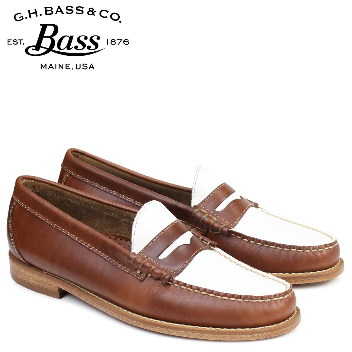 G.H. BASS ローファー ジーエイチバス メンズ ペニー LARSON WEEJUNS 70-79032 靴 ブラウン