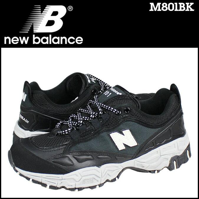 new balance ニューバランス スニーカー  M801BK Dワイズ  メンズ 靴 ブラック
