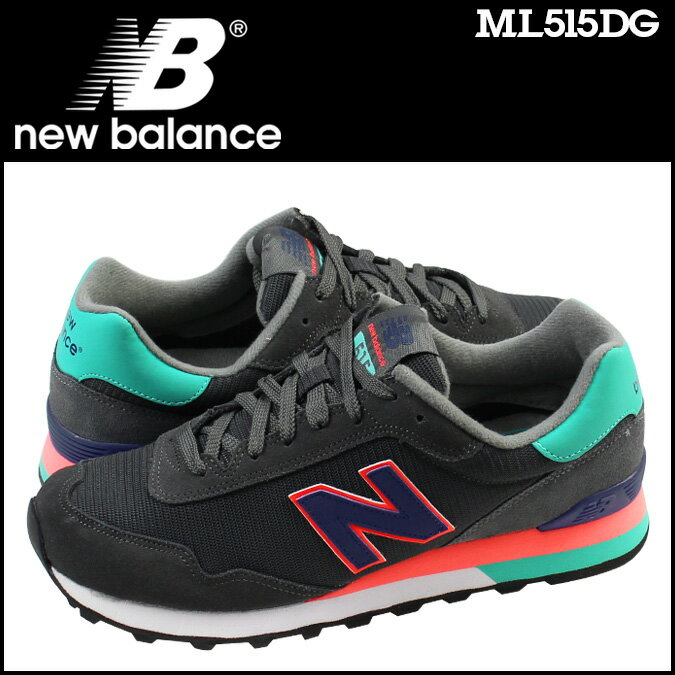 new balance ニューバランス スニーカー  ML515DG Dワイズ  メンズ 靴 グレー