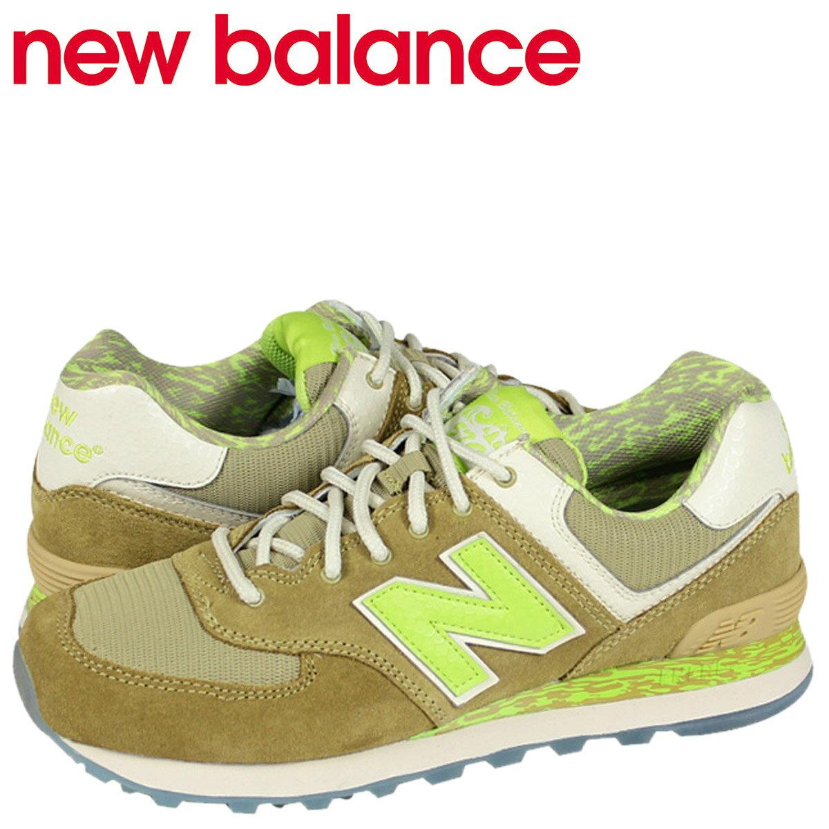 new balance ニューバランス 574 スニーカー  ML574CGP Dワイズ  メンズ 靴 イエロー