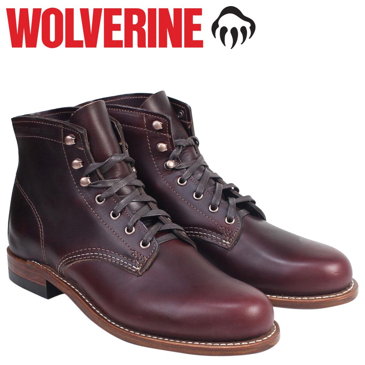 ウルヴァリン 1000マイル ブーツ WOLVERINE 1000MILE ワークブーツ  BOOT NO 8  W00137 コードバン  メンズ [9/27 追加入荷]