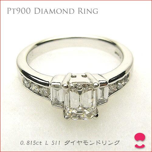 プラチナ900 ダイヤモンドリング 【tokai1106sale】
