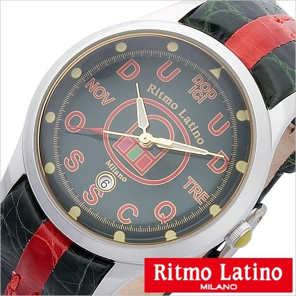 リトモラティーノ腕時計 Ritmo Latino時計 Ritmo Latino 腕時計 リトモラティーノ 時計 フィーノ レギュラー サイズ FINO Regular メンズ レディース ユニセックス ネイビー F49DB-ST[イタリア かわいい 希少 レア 人気 雑誌掲載][送料無料][プレゼント][D]