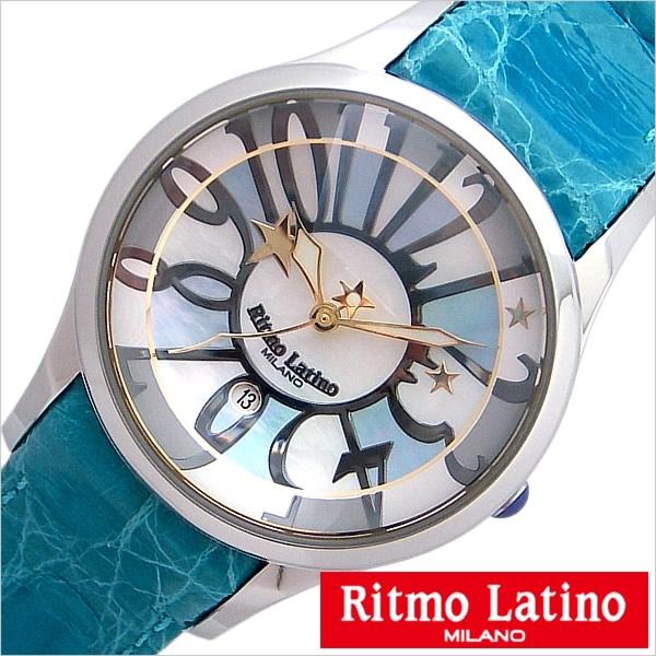 リトモラティーノ 腕時計 Ritmo Latino 腕時計 リトモラティーノ 時計 フィーノ レギュラー サイズ FINO Regular メンズ レディース ユニセックス モザイク柄 F50MOP[正規品 イタリア ミラノ かわいい 希少 レア 人気 雑誌掲載][送料無料][プレゼント ギフト][D]