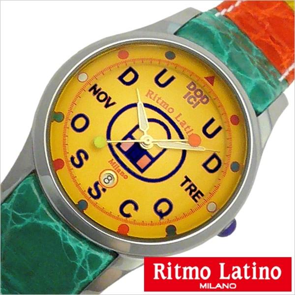 リトモラティーノ 腕時計 Ritmo Latino 腕時計 リトモラティーノ 時計 フィーノ レギュラー サイズ FINO Regular メンズ レディース ユニセックス オレンジ F70DB-MA[正規品 イタリア ミラノ かわいい 希少 レア 人気 雑誌掲載][送料無料][プレゼント ギフト][D]
