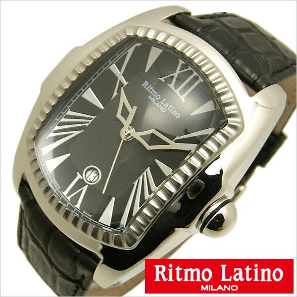 リトモラティーノ 腕時計 Ritmo Latino 腕時計 リトモラティーノ 時計 クラシコ レギュラー サイズ CLASSICO Regular レディース ブラック Q3AB33SS[正�� イタリア ミラノ ���� 希少 レア 人気 雑誌掲載][�料無料][プレゼント ギフト][D]