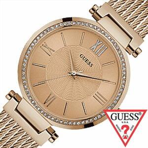 ゲス腕時計 GUESS時計 GUESS 腕時計 ゲス 時計 ソーホー SOHO レディース ピンク W0638L4[メタル ベルト 正規品 ファッション ウォッチ カジュアル ローズゴールド][送料無料][プレゼント ギフト][C]