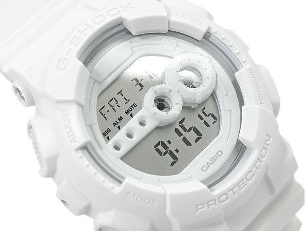 【ポイント2倍!!+送料無料!】GD-100WW-7DR G-SHOCK Gショック ジーショック gshock カシオ CASIO 腕時計
