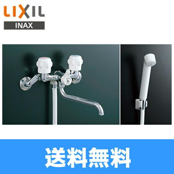 【フラッシュクーポン対象ショップ】リクシル[LIXIL/INAX]浴室用2ハンドル混合栓BF-651(300)-RU[一般地仕様]【送料無料】