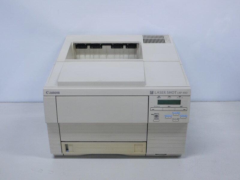 LBP-450 CANON A4モノクロレーザープリンタ 約2.4万枚 Windows 3.1/95~対応【中古】【全品送料無料セール中!】