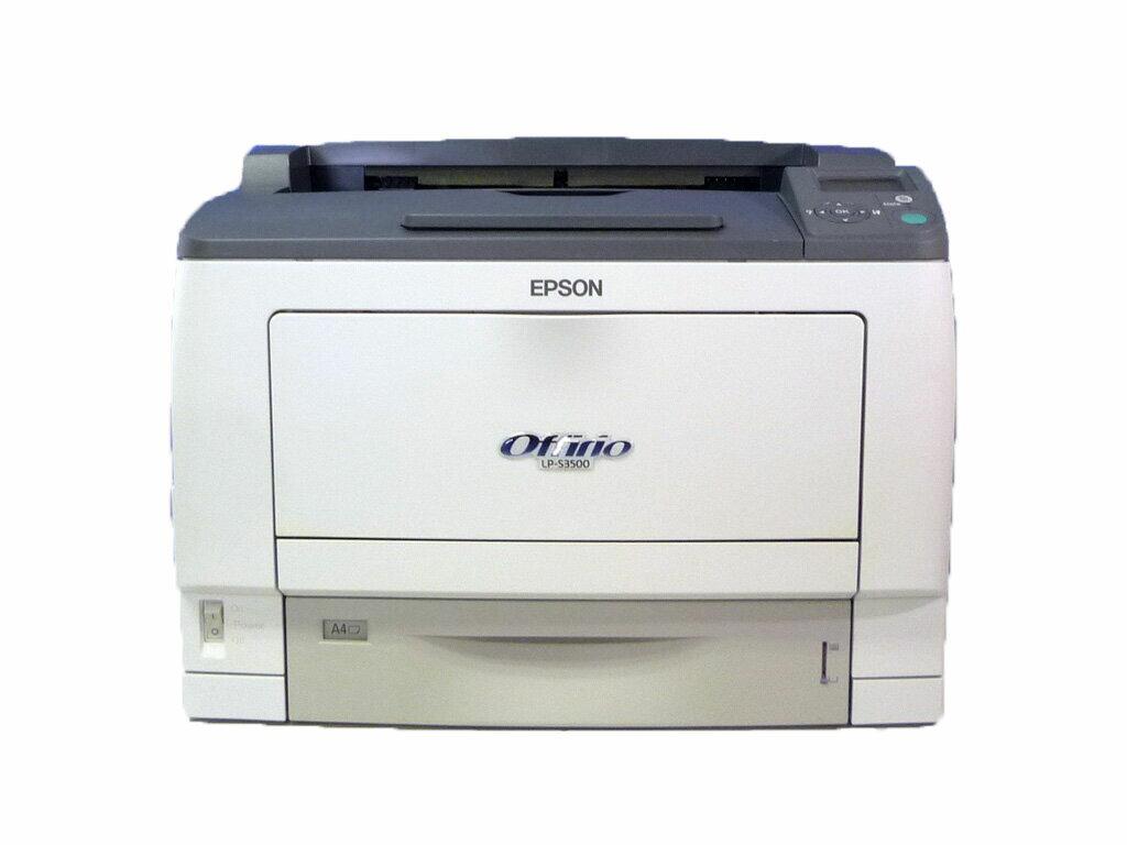 LP-S3500 EPSON A3モノクロレーザープリンタ 約8,000枚 両面印刷ユニット付き【中古】【全品送料無料セール中!】