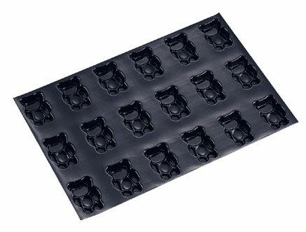【送料無料】ドゥマール フレキシパン 18取 1056 テディベア(小熊) WHL7301【smtb-u】