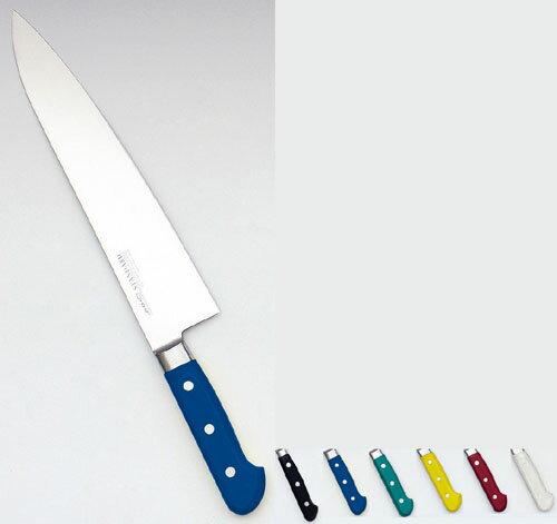 【送料無料】堺實光 STD抗菌PC 牛刀(両刃) 18cm 黄 56084 AZT7004【smtb-u】