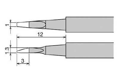 極美品 TRUSCO トラスコ中山 工業用品 グット 替こて先 XST-80G用