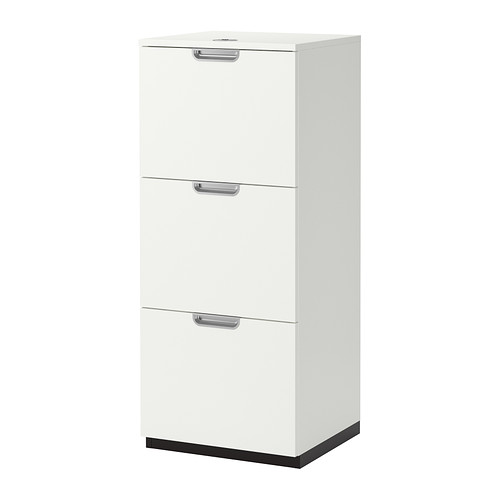 【IKEA/イケア/通販】 GALANT ファイルキャビネット, ホワイト(b)(00338563)