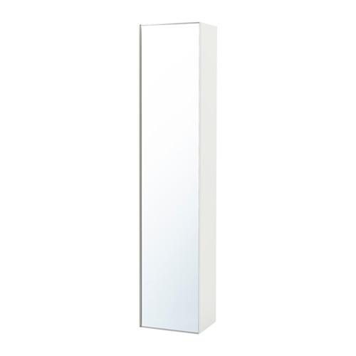 【IKEA/イケア/通販】 GODMORGON ハイキャビネット ミラー扉付き, ハイグロス ホワイト(a)(40344171)