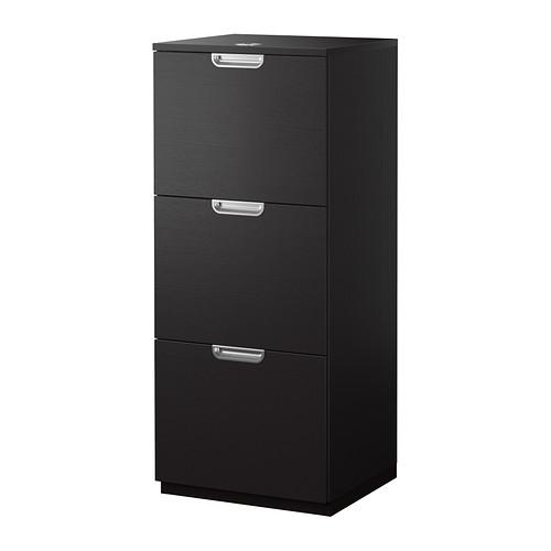 【IKEA/イケア/通販】 GALANT ファイルキャビネット, ブラックブラウン(d)(40338580)