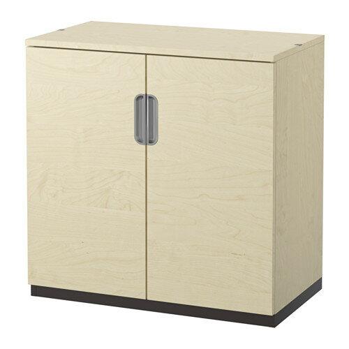 贅沢 【IKEA/イケア/通販】 GALANT キャビネット 扉付, バーチ材突き板(c)(80289021)