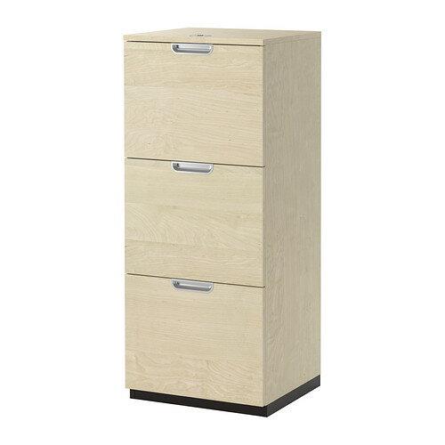 【IKEA/イケア/通販】 GALANT ファイルキャビネット, バーチ材突き板(a)(80338559)
