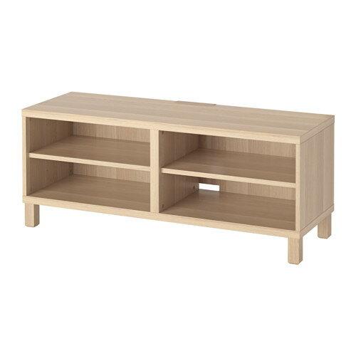 【IKEA/イケア/通販】 BESTÅ テレビ台, ホワイトステインオーク調(S19219409)