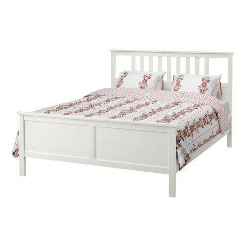 【IKEA/イケア/通販】 HEMNES ベッドフレーム, ホワイトステイン, ルーローイ(S69198409)