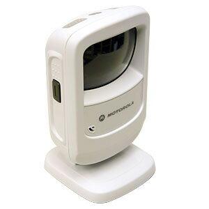 【送料無料】標準デジタルスキャナー DS9208シリーズ 白色 キーボード I/Fケーブル 2.1m 取説CD付/ ウェルコムデザイン