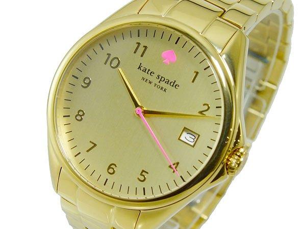 Kate Spade ケイトスペード 腕時計 レディース Ladies 時計 ゴールド 1YRU0030 人気 ブランド ケイトスペード腕時計 ケイトスペード時計 かわいい 可愛い オススメ おしゃれ 女性 ギフト プレゼント
