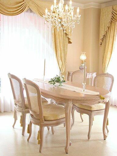 輸入家具■オーダー家具■プリンセス家具■リボン■ダイニングテーブル180