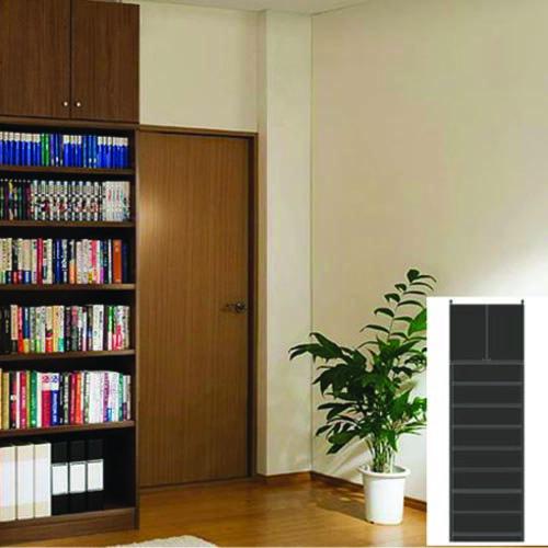 大容量書庫 大容量本棚 扉付き収納 M2 【オーダー収納】雑誌 ビデオなどの収納に 組立家具 大容量書庫 高さ283.1~292.1cm幅60~70cm奥行31cm 標準棚板(厚さ1.7cm)