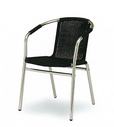 BS504BL Arm Chair-323 【ガーデンチェア】