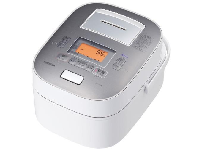 TOSHIBA 炊飯器 真空圧力IH RC-10VXL(W) [グランホワイト]