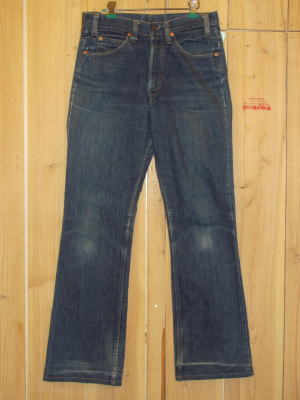 70s古着 リーバイス/LEVIS 518ブーツカット 66モデル ブーツカット MADE IN USA/W32×L31/送料無料