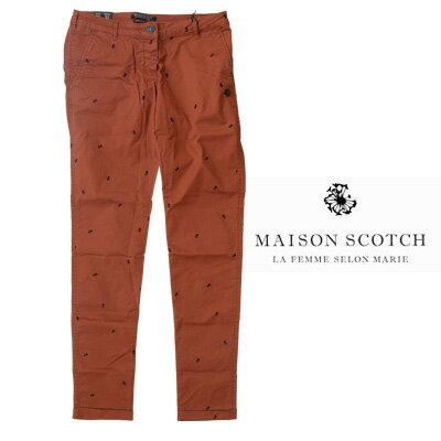 MAISON SCOTCH(メゾンスコッチ) Printed Pima Pants ピマパンツ【あす楽対応】【smtb-TD】【tohoku】