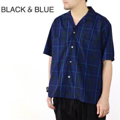 ブラックアンドブルー Black & Blue ワンアップ半袖ワークシャツ One UP S/S Work Shirt 124S03 2017春夏【あす楽対応】【smtb-TD】【tohoku】