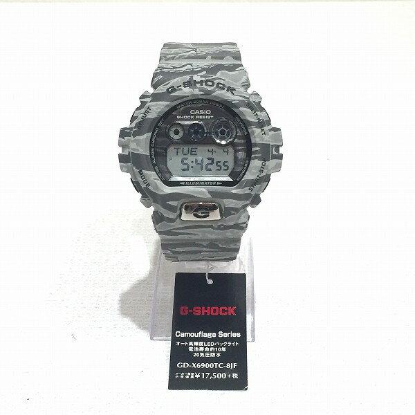 時計 カシオ G-SHOCK Camouflage Series GD-X6900TC-8JF 未使用品 ★送料無料★【中古】【あす楽】