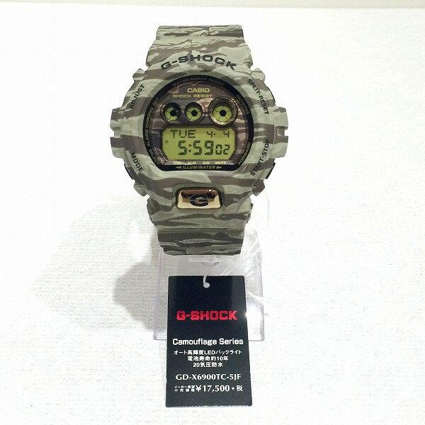 時計 カシオ G-SHOCK Camouflage Series GD-X6900TC-5JF 未使用品 ★送料無料★【中古】【あす楽】